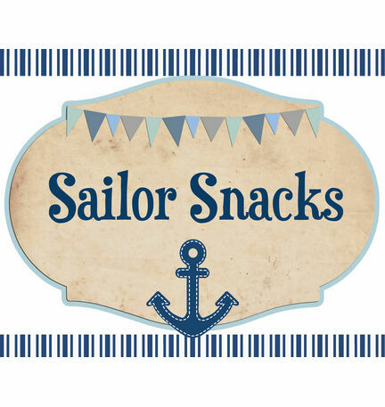 Nautical Party Sign/Poster
