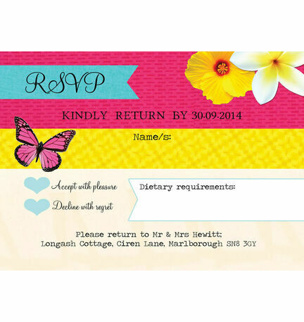 Tropical Breeze RSVP
