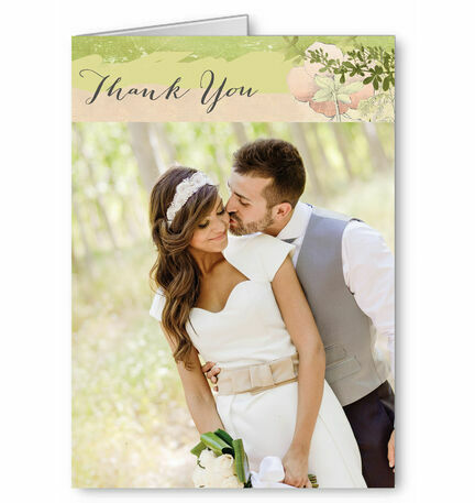 Wild Garden Thank You Card