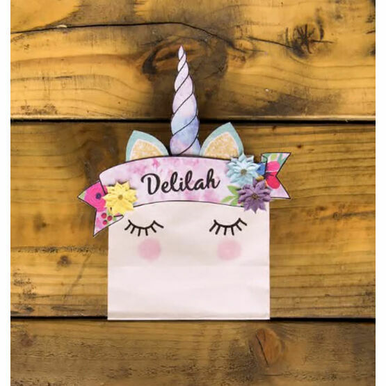 DIY Printable Unicorn Party Bags