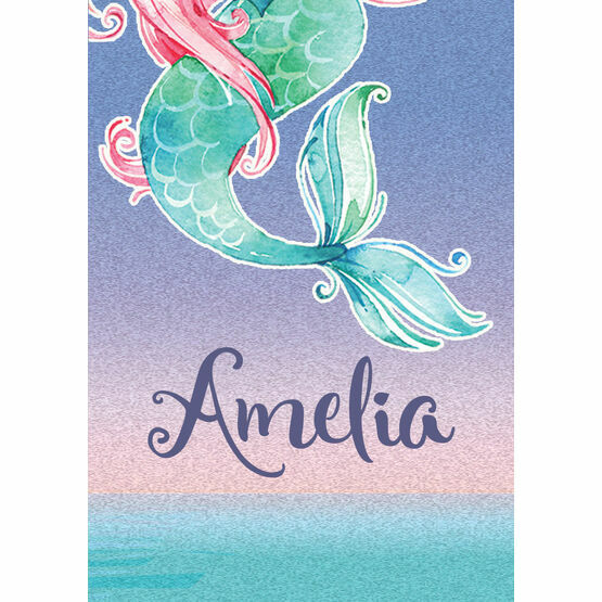 Mermaid Name Cards - Set of 9