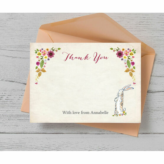 Velveteen Rabbit Thank You Card