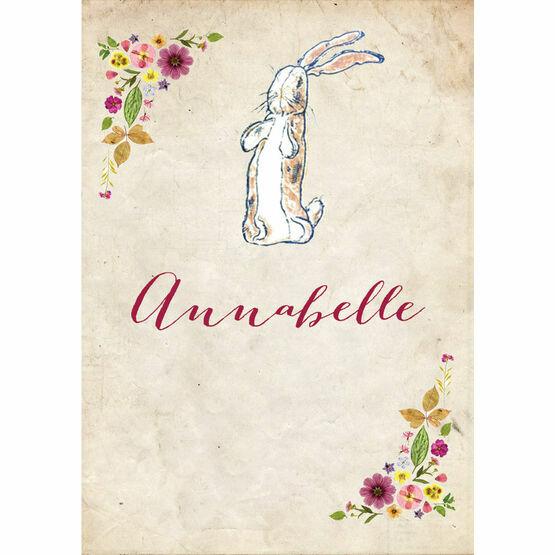 Velveteen Rabbit Name Cards - Set of 9