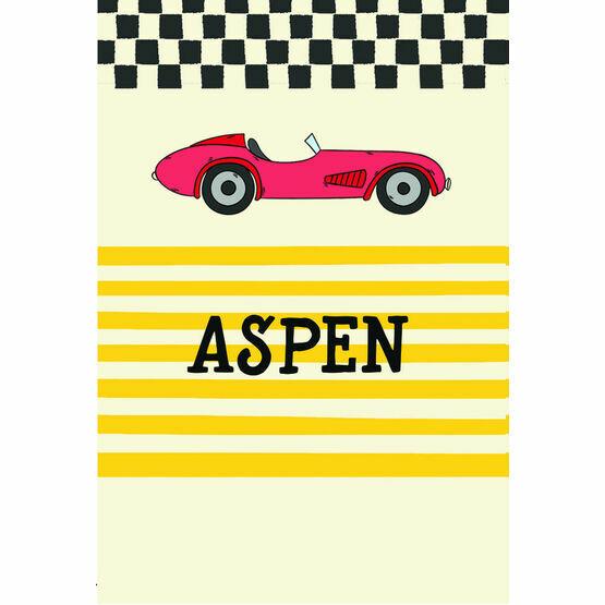 Racing Cars Name Cards - Set of 9