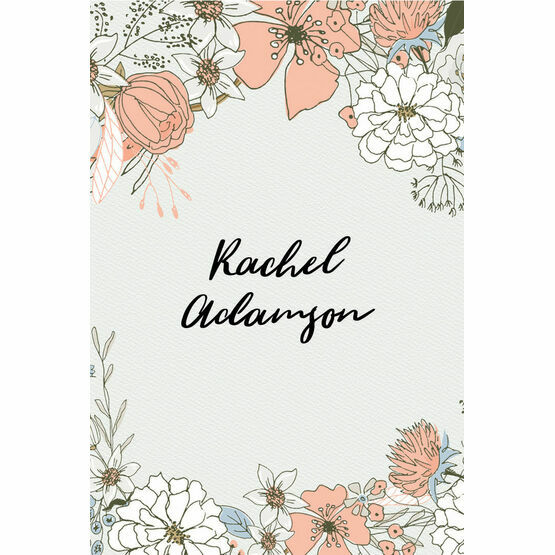 Wild Flowers Place Cards - Set of 9