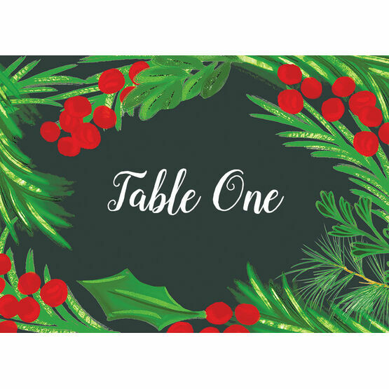 Winter Berries Table Name