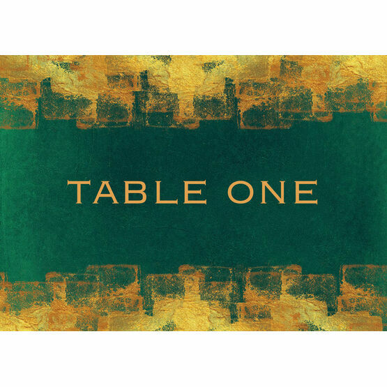Emerald & Gold Table Name