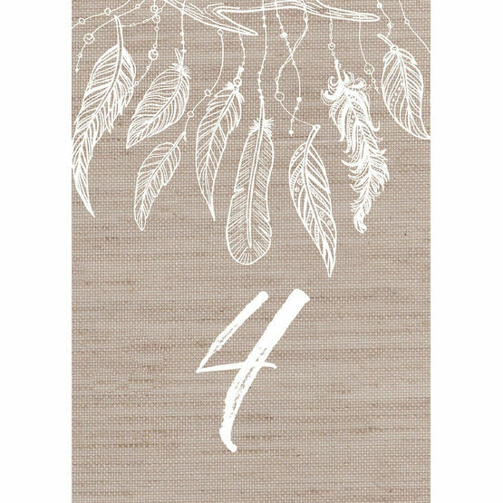 Dream Catcher Table Number