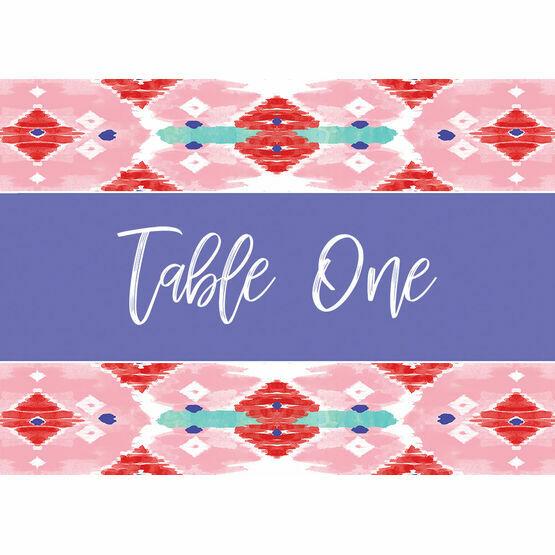 Summer Festival Table Name
