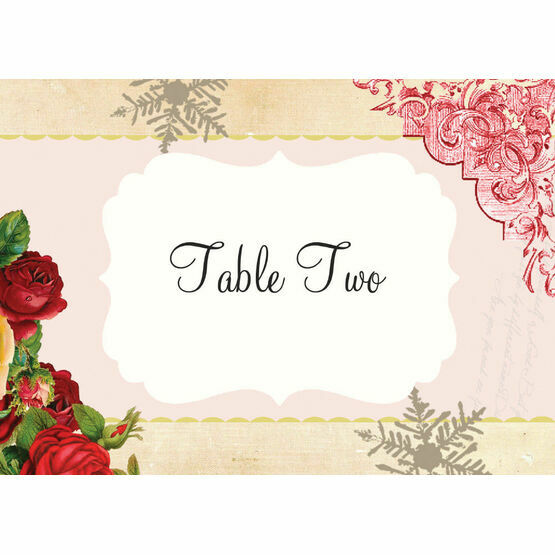 Winter Wonderland Table Name