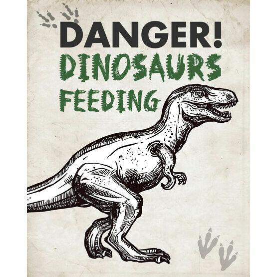 Jurassic Dinosaur Party Sign