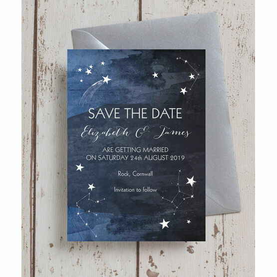 Midnight Stars Save the Date