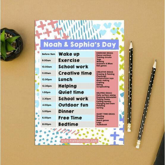 Art Design Daily Kids' Planner