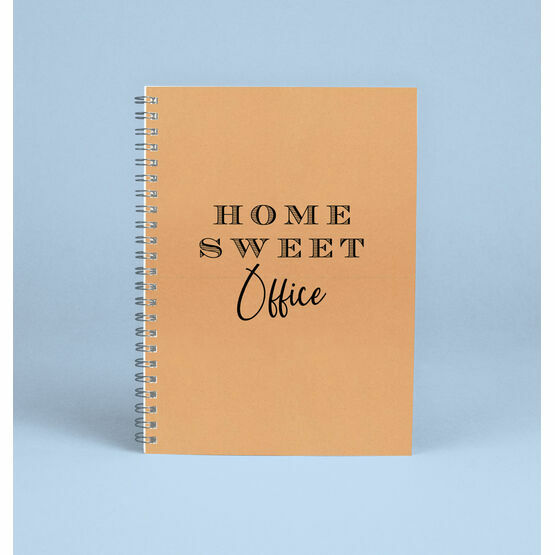 'Home Sweet Office' Work From Home Notebook