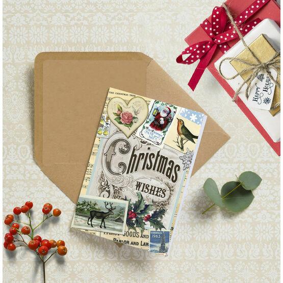Vintage Memories Personalised Christmas Cards