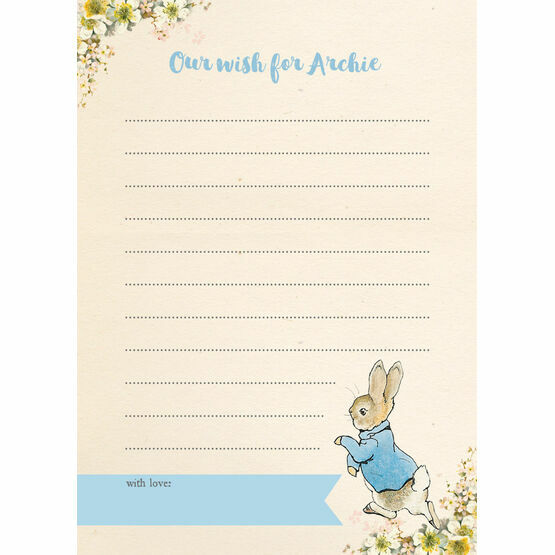 Beatrix Potter Peter Rabbit Birthday Wish Card