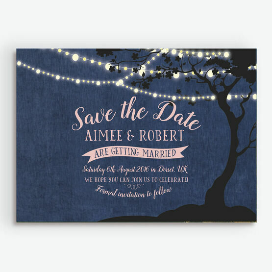 Enchanted Fairy Lights Save the Date