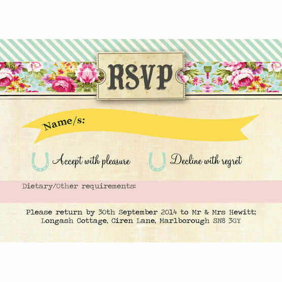 Day at the Races RSVP