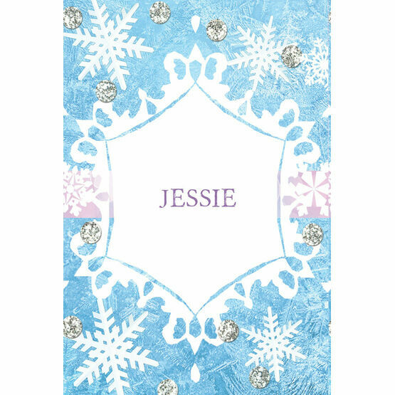 Frozen Ice Name Cards - Set of 9