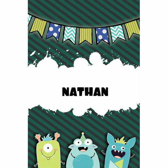 Monster Mayhem Name Cards - Set of 9